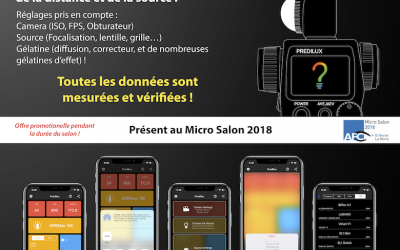 Predilux App – Micro Salon 2018, Paris
